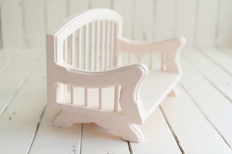plumprops.com - cream wooden bench