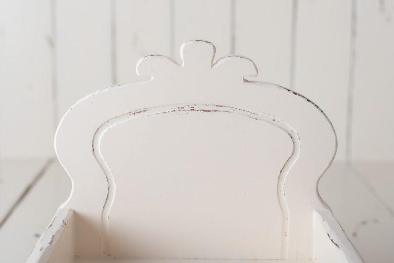 plumprops.com - cream wooden bed